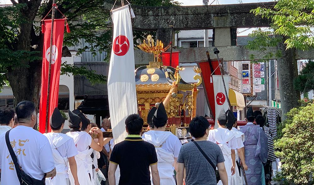 二百十日祭・神幸の儀