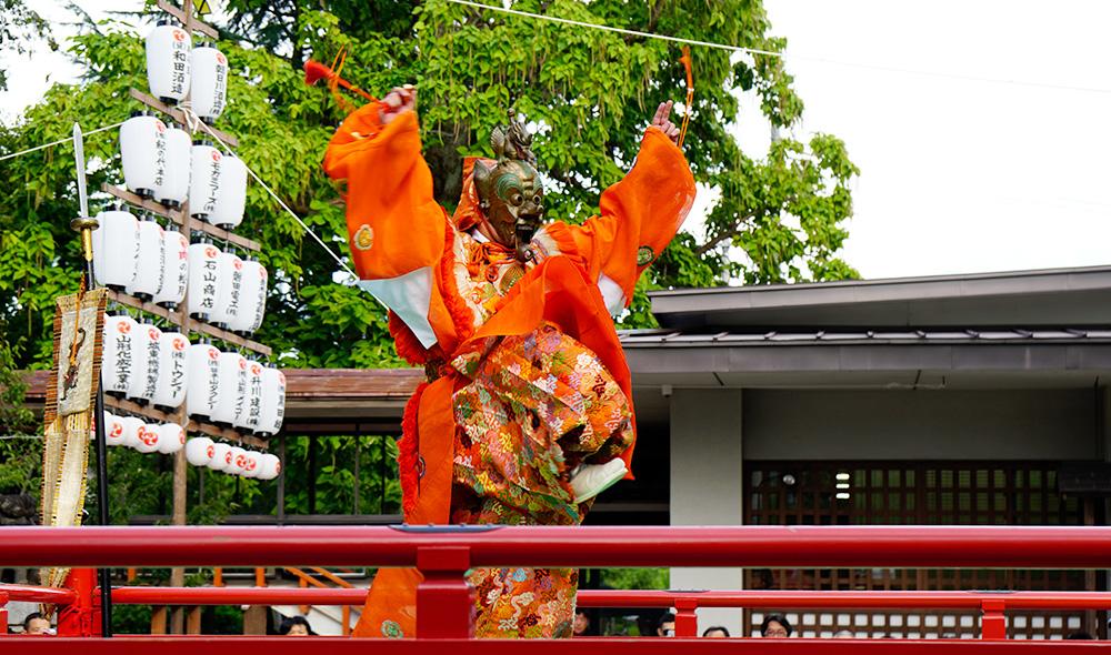谷地八幡宮例祭(谷地どんがまつり)